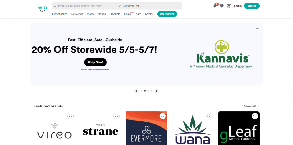 Weedmaps Cannabis Business Social Networks