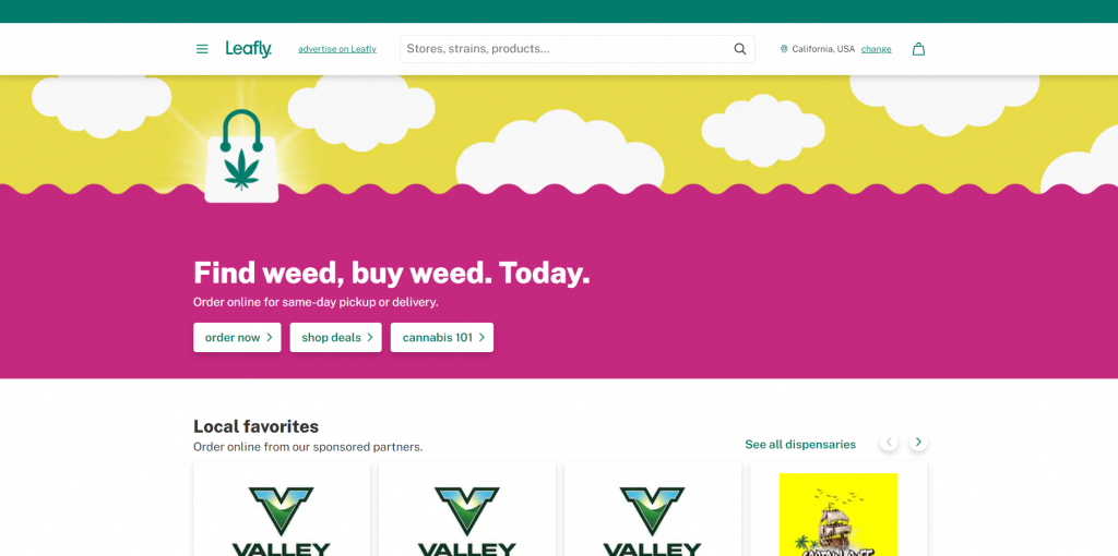 Leafly Cannabis Business Social Network