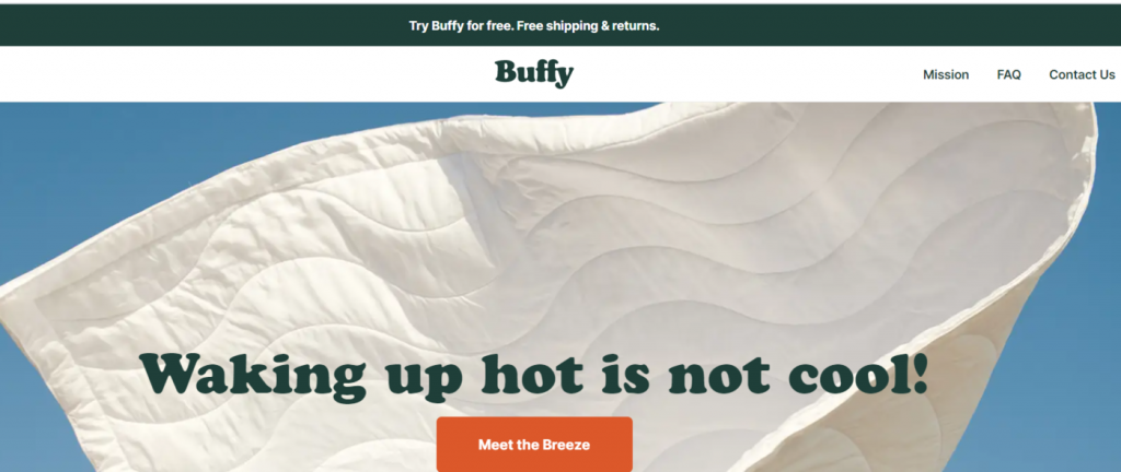 Buffy Eco friendly products