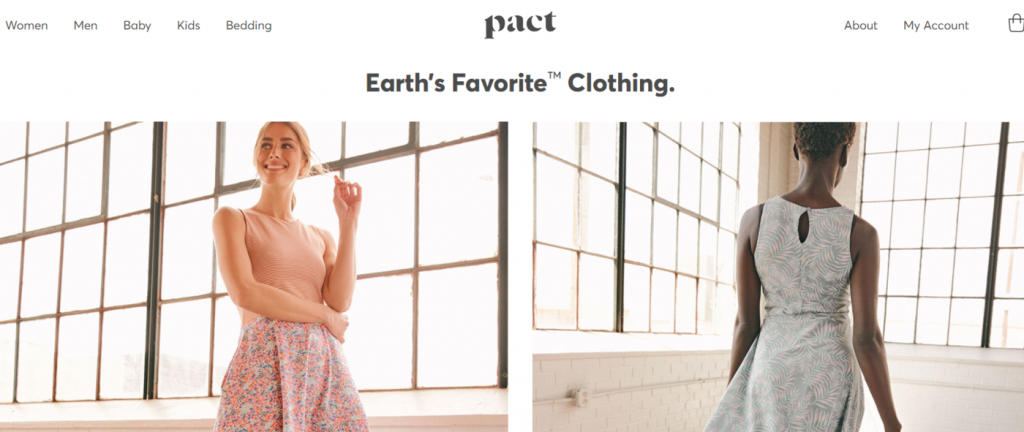 Pact eco friendly products